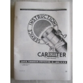 Carter Factory Service Manual W1 WA-1 WO WCD BB WDO WGD 1932-48 (901.CARTW1MANUAL)